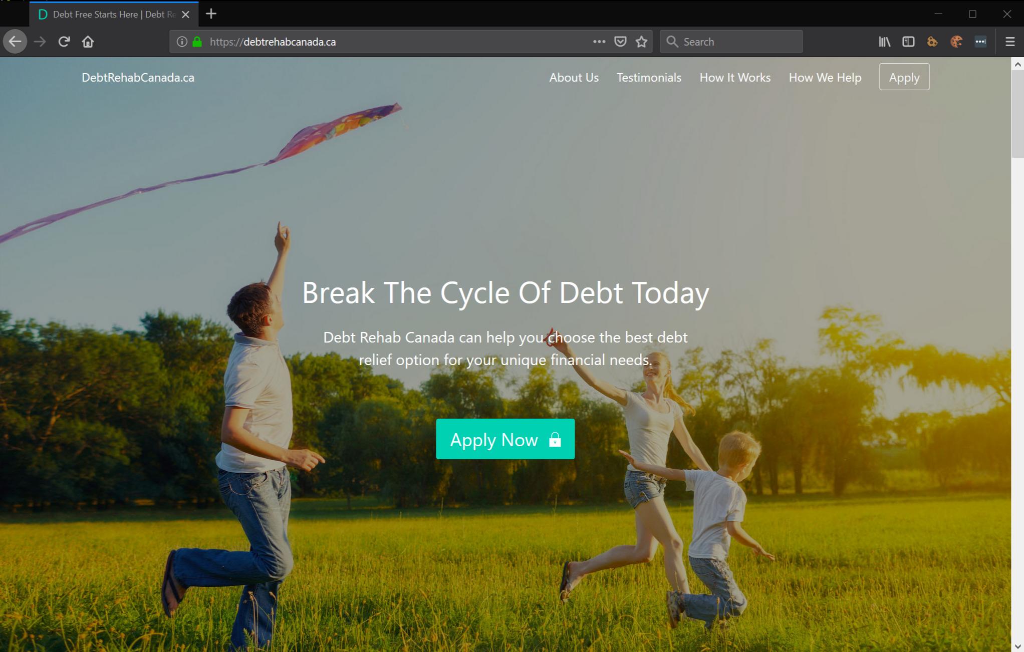 debt rehab canada