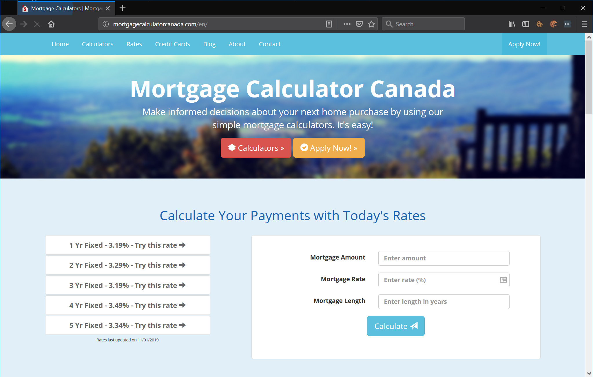 mortgage calculator canada